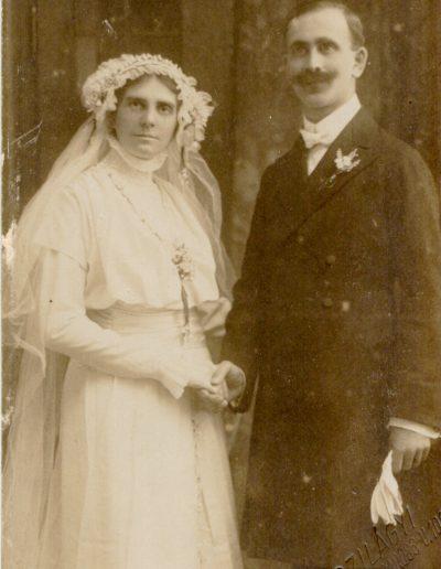 Baranyai Mihály és Lénárd Erzsébet 1915