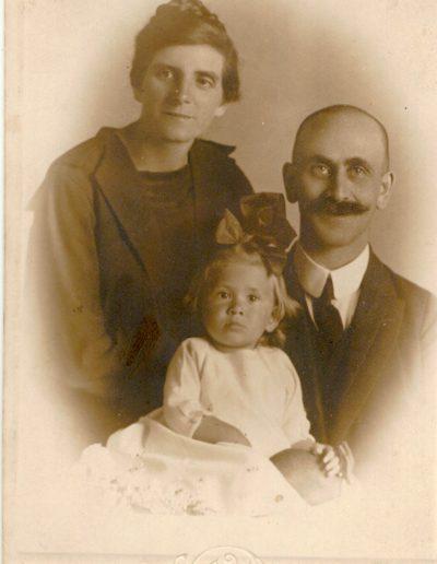 Baranyai Mihály és családja