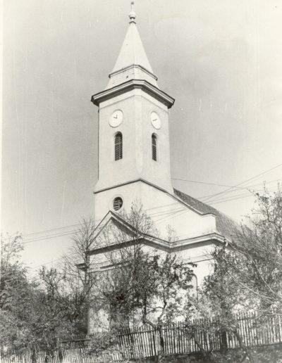Misszióút Bükkzsércen 1985: református templom