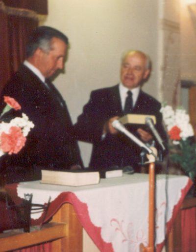 László Gábor beiktatása