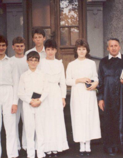 1989 Bemerítkezők László Gábor lelkipásztorral