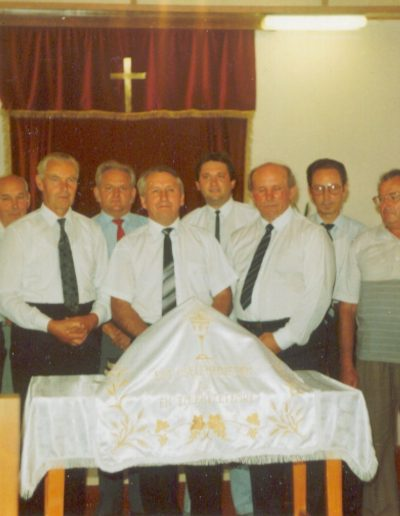 1988 A gyülekezet vezetősége