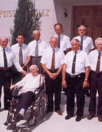 1999 A gyülekezet vezetősége