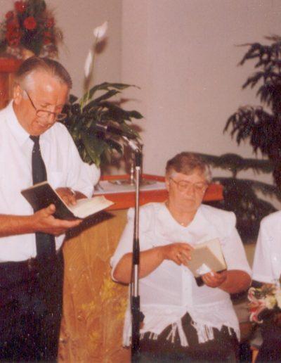 1999. június, László Gábor búcsúztatója