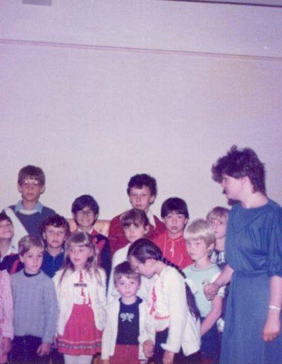 1985. Zentai Ida és a gyerekek