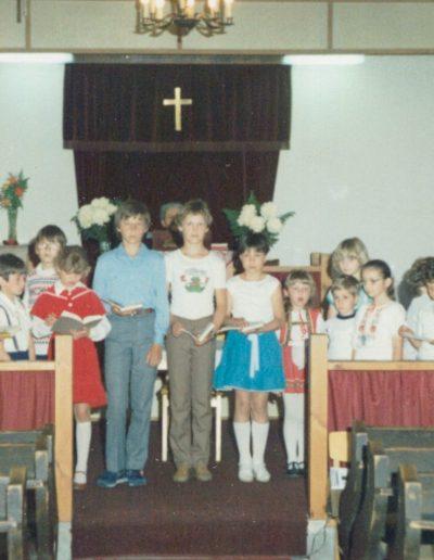 Anyák napi gyerekszolgálat 1985