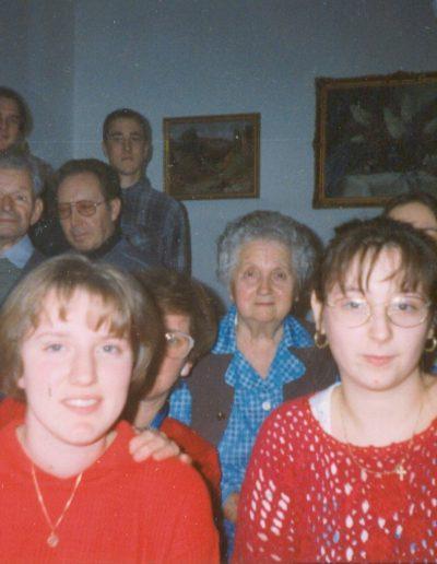 Fiatalok Czerman Benő bácsit és Kató nénit látogatták meg