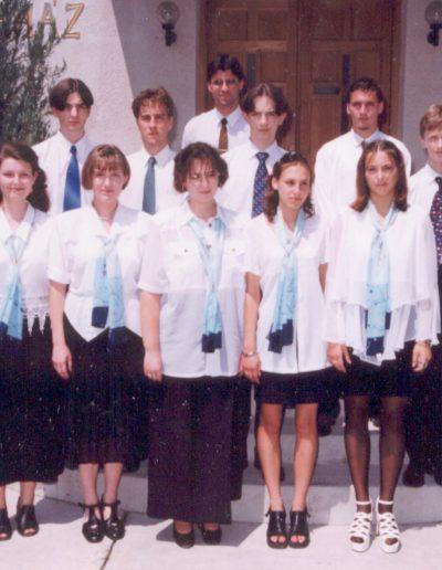 1999-ben az ifjúság