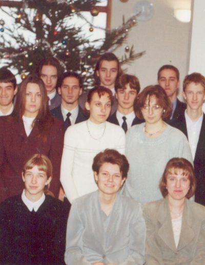 2000 Karácsonyán a fiatalok
