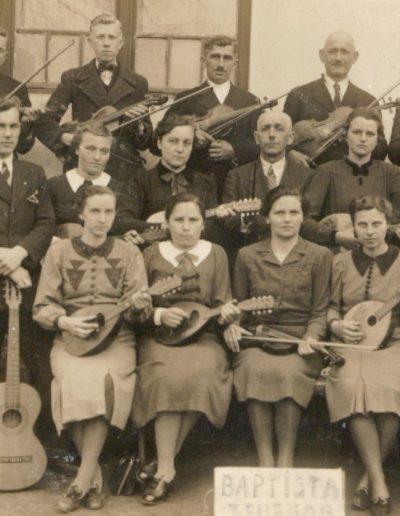 Régi mandolin zenekar
