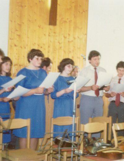 Balatonszemesen 1985