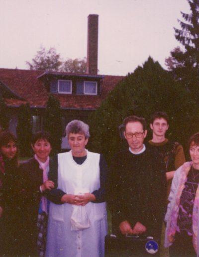 Kiskőrösi szeretetházban 1993
