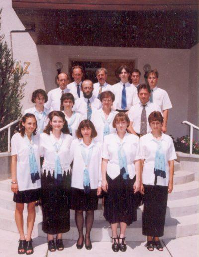 Énekegyüttes 1999