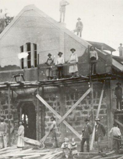Imaház építés 1910