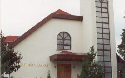 Imaház építés 1991-1995