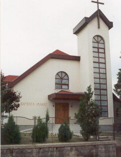 Újjáépített Imaház 1995