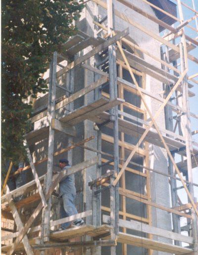 Építkezés, a torony
