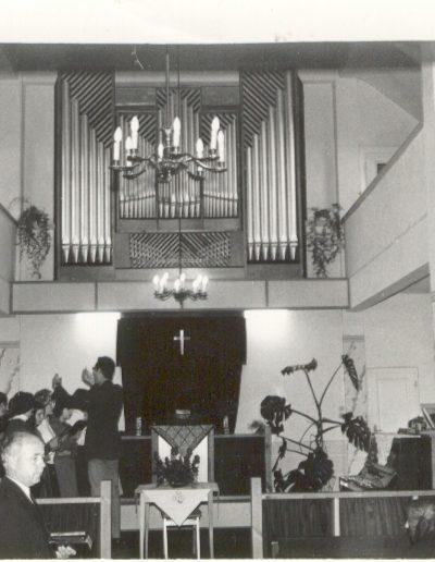 1910-ben épített imaház