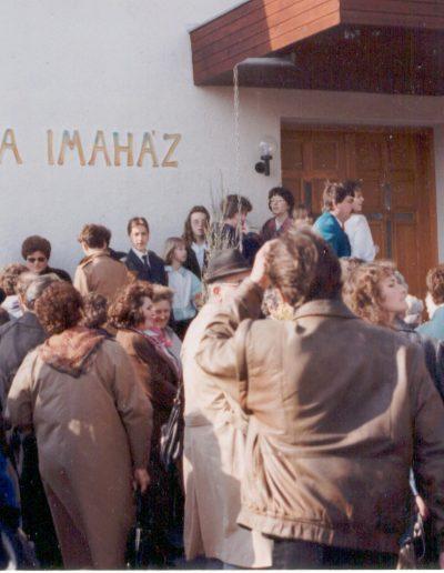 Imaház átadás 1995. március 25.
