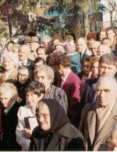 Imaház átadás 1995