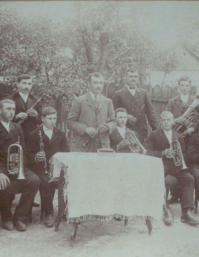 Fúvos zenekar 1910