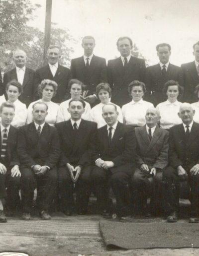 1960 A gyülekezet, az imaház építésének 50 éves jubileumán