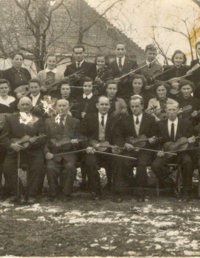 Összevont zenekar 1960-ban