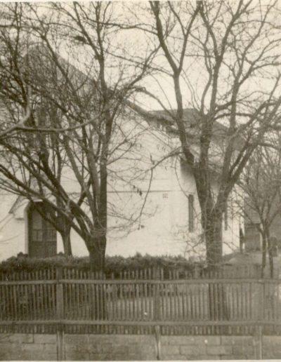 1910-ben átadott imaház